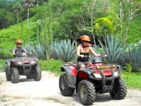 ATV and Zipline tours