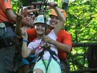 Puerto Vallarta Canopy Zipline Kid Friendly