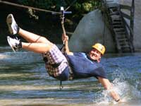 Zip above the River in Puerto Vallarta Canopy Excursions